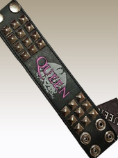 Queen - Leather Wristband (23x5Cm)