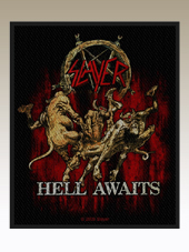 Slayer - Hell Awaits Patch (10x8Cm)