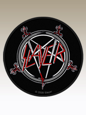 Slayer - Round Patch (9Cm)