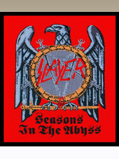 Slayer - Seasons Patch (10x10Cm)