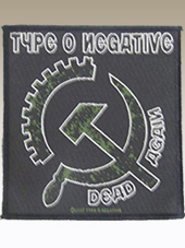 Type o Negative - Patch (10x9,5Cm)