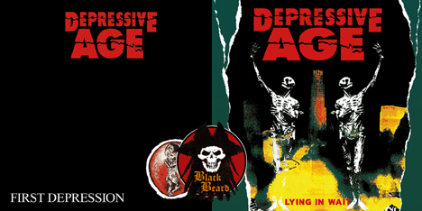 <strong>July 2020:</strong> What's new in BlackBeard project? it seems new cool releases soon to be available... now it's time to discover underrated Depressive Age with amazing debut 'First Depression' and the following 'Lying in Wait'. (Click for details)