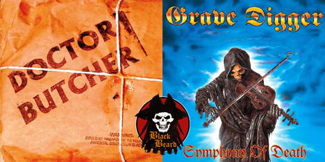 <strong>May 2020: </strong>What's new in BlackBeard project? it seems 5 more cool releases soon to be available...some for the very first time on vinyl! First 2 are Dr. Butcher (US) featuring mighty Jon Oliva (Savatage) on vocals and Grave Digger 'Symphony of Death'. Click to discover the others...