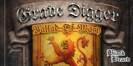 <strong>June 2021:</strong> it's time to add a new piece to your Grave Digger collection! 'Ballad of Mary' available for the very first time on vinyl, featuring Doro Pesch and Hansi Kursch (Blind Guardian) on classics tracks from epic 'Tunes of War'. (Click for details)