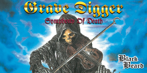 <strong>September 2021:</strong> Grave Digger 'Symphony of Death' Lp reprint available 8th October. Restored artwork, same great headbanging music! First 100 copies yellow vinyl. (Click for details)