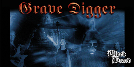 <strong>September 2021:</strong> New BlackBeard release! Grave Digger first official live album, 'Tunes of Wacken', available for the first time on (double) Lp, with remastered sound. (Click for details)