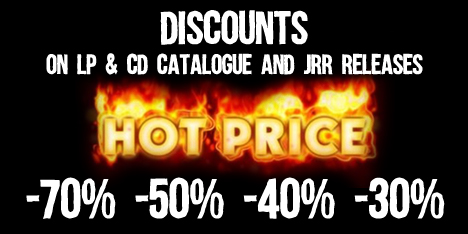 <strong>June 2017:</strong>&nbsp;Summer? Hot Prices Time! New areas with discounts from 30% to 70% on Cd, Lp and JRR releases now available. Cd from 2,00 &euro;! Give a Look :)&nbsp;