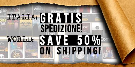 <strong>September 2019:</strong>Spedizione gratuita con corriere espresso per l'Italia! (clicca per scoprire tutte le promozioni)Save 50% on shipping cost worldwide! (Click to discover all details)