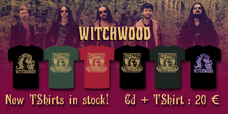 <strong>November 2015:</strong>&nbsp;New Witchwood Tshirts now available together with Cd