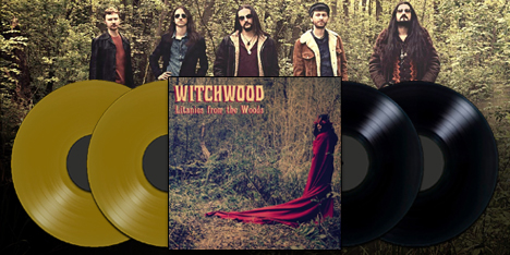 <strong>June 2017:</strong> Witchwood&#39;s debut masterpiece 'Litanies from the Woods' double-vinyl reprint finally in stock! JRR sincerely apologises for delay. First 100 copies in deluxe gold wax. (Click for details)