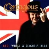 CONTAGIOUS - Red White And Slightly Blue (Cd)