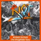 RIOT - Revenge On Stage (live 1981) (Cd)