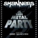 SKANNERS - Eins Zwei Drei Metal Party (Book)