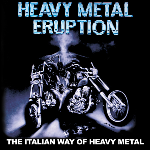 heavy metal eruption, death ss, crying steel, strana officina