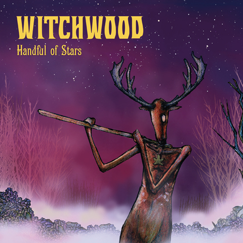 WITCHWOOD, HANDFUL OF STARS, LITANIES FROM THE WOODS, JOLLY ROGER RECORDS