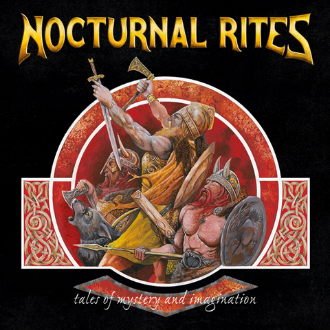 nocturnal rites, tales of mystery and imagination, heavy metal, jolly roger records, blackbeard