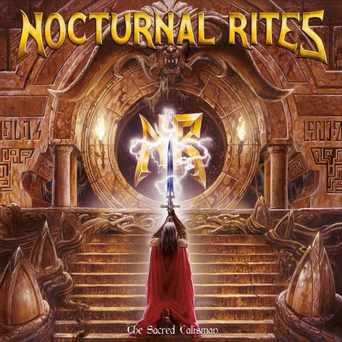 nocturnal rites, the sacred talisman, heavy metal, jolly roger records, blackbeard