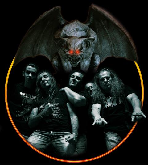 unreal terror, jolly roger records, heavy metal, unreal terror hard incursion