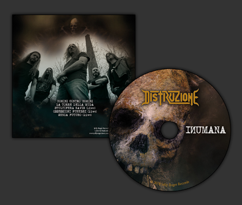 distruzione inumana, death metal, jolly roger records