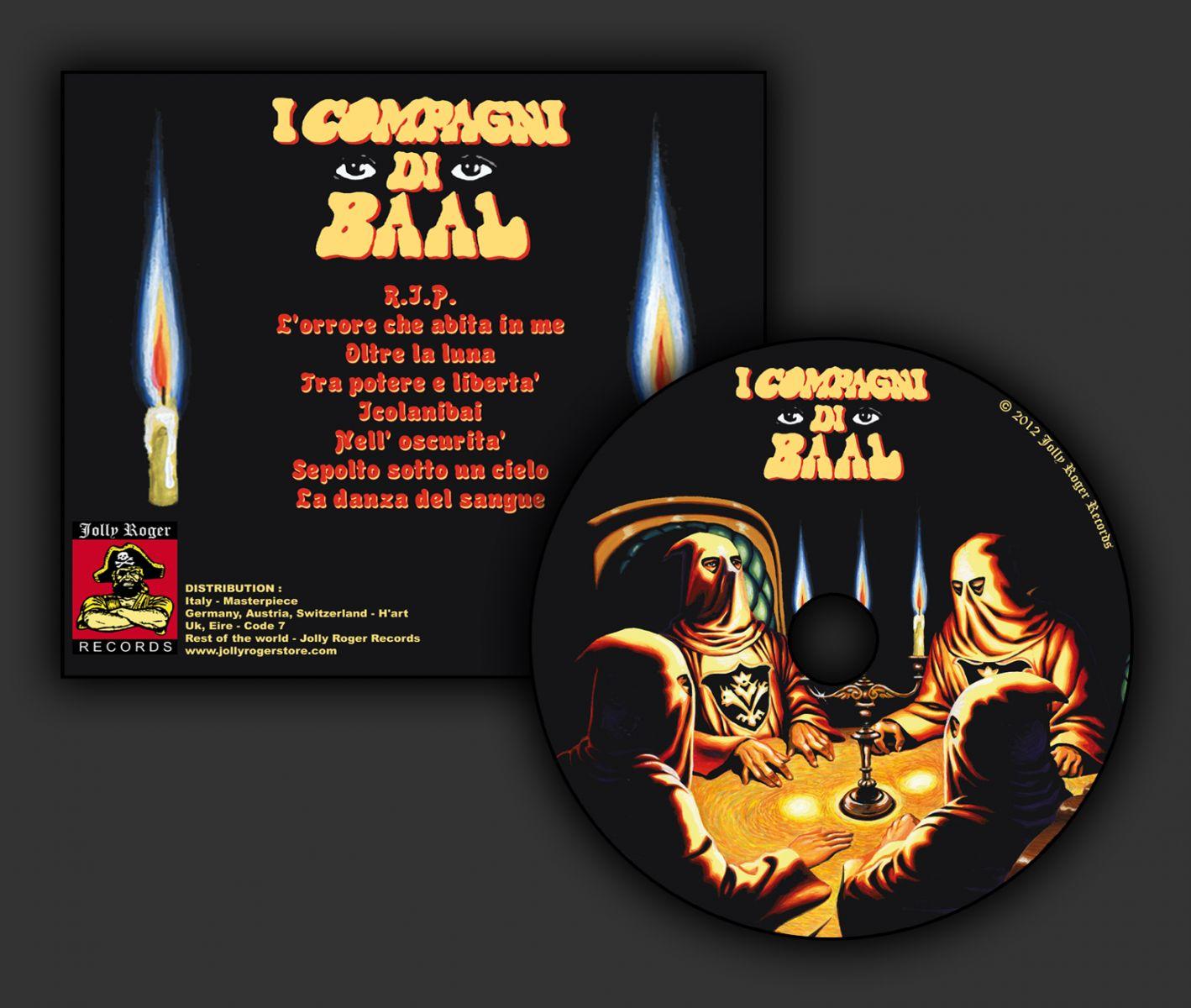 i compagni di baal, l'impero delle ombre, black widow records