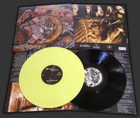 memory garden, doom metal, blackbeard records, jolly roger records
