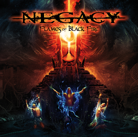 NEGACY, FLAMES OF BLACK FIRE, NEVERMORE, MORGANA LEFAY, SANCTUARY, RED WARLOCK, MEMENTO WALTZ