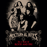 nocturnal rites, in a time of blood and fire, true metal, jolly roger records