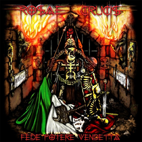 rosae crucis, fede potere vendetta, epic metal, holy martyr