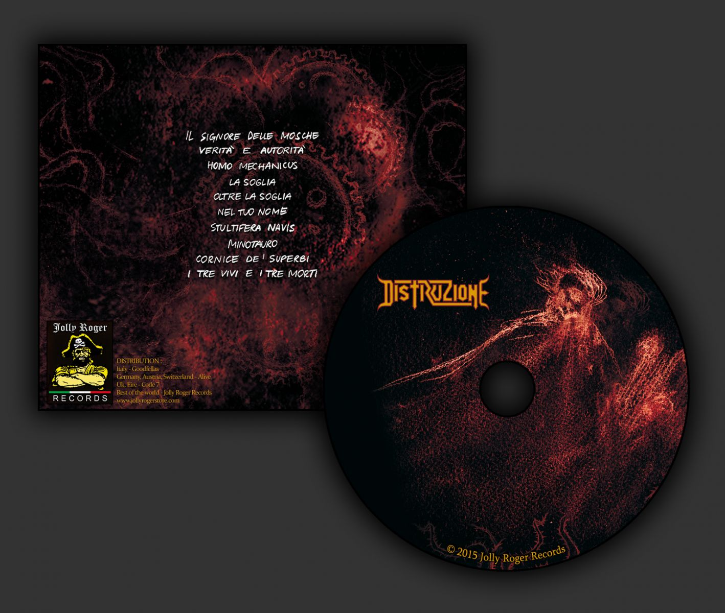 distruzione, olocausto cerebrale, endogena, thrash metal