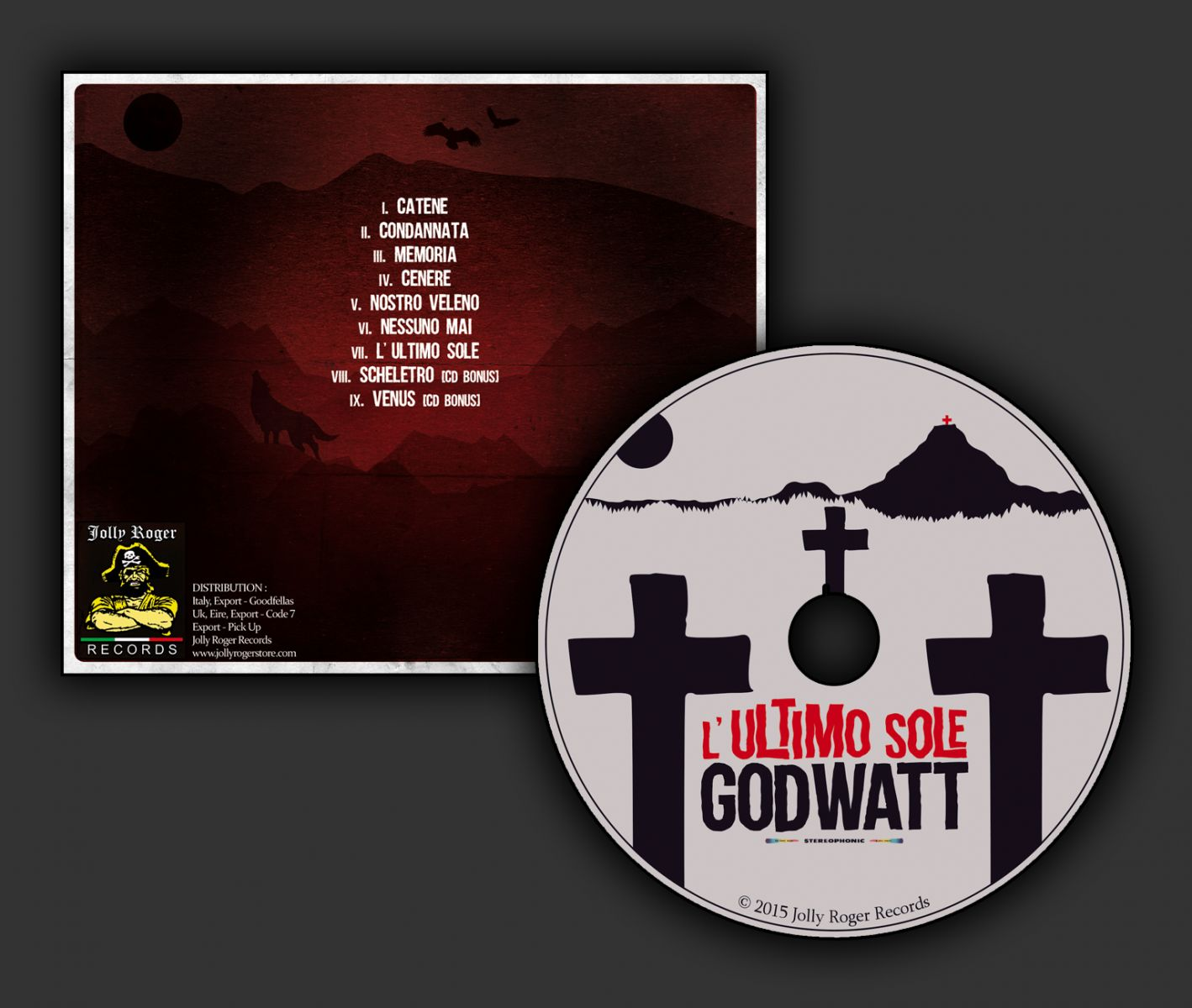 godwatt, stoner, doom metal, l'ultimo sole
