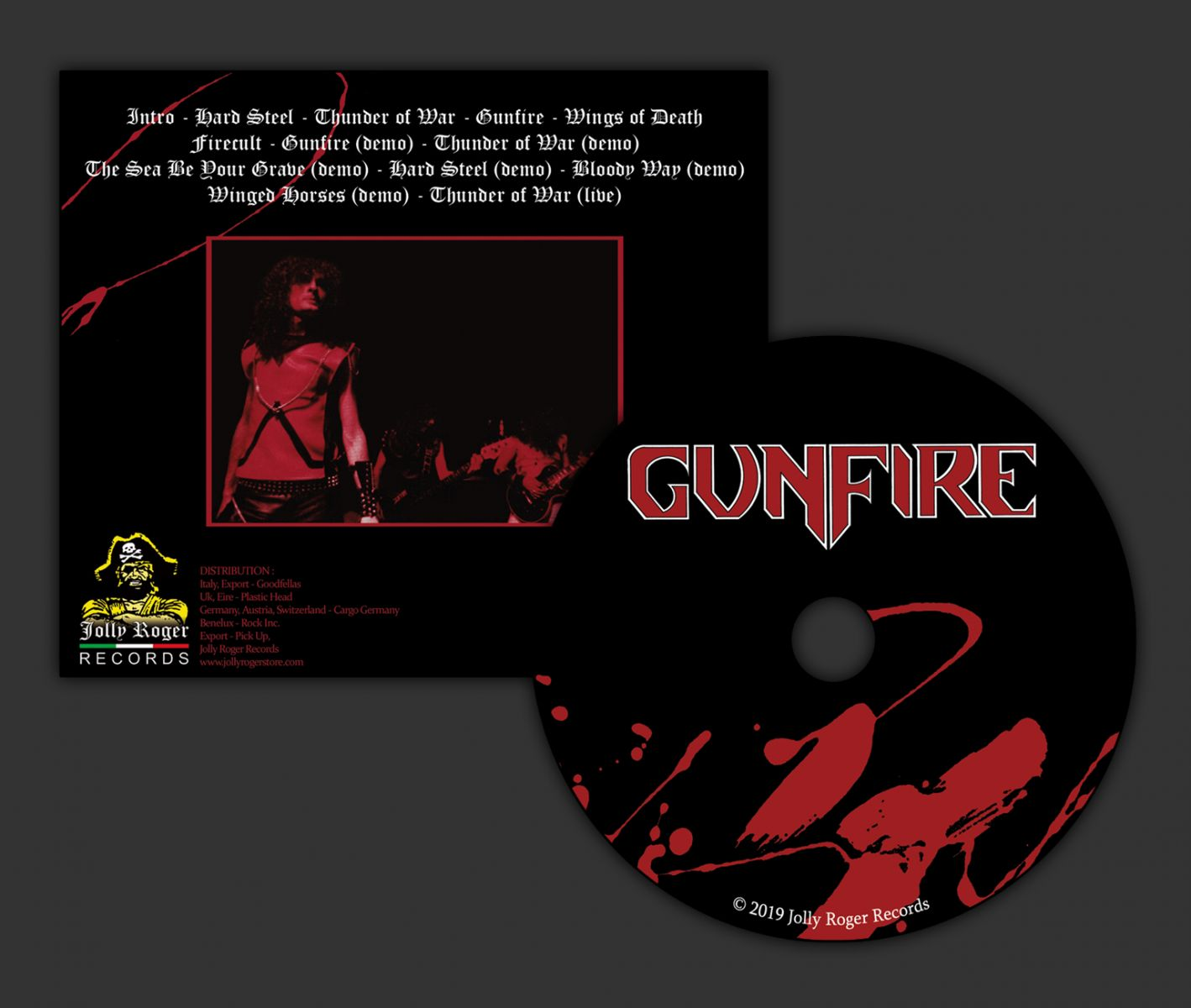 gunfire ep, gunfire thunder of war, heavy metal