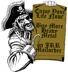 heavy metal mailorder, jolly roger records, heavy metal