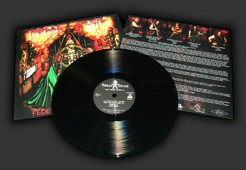 Rosae Crucis, Fede Potere Vendetta, epic metal