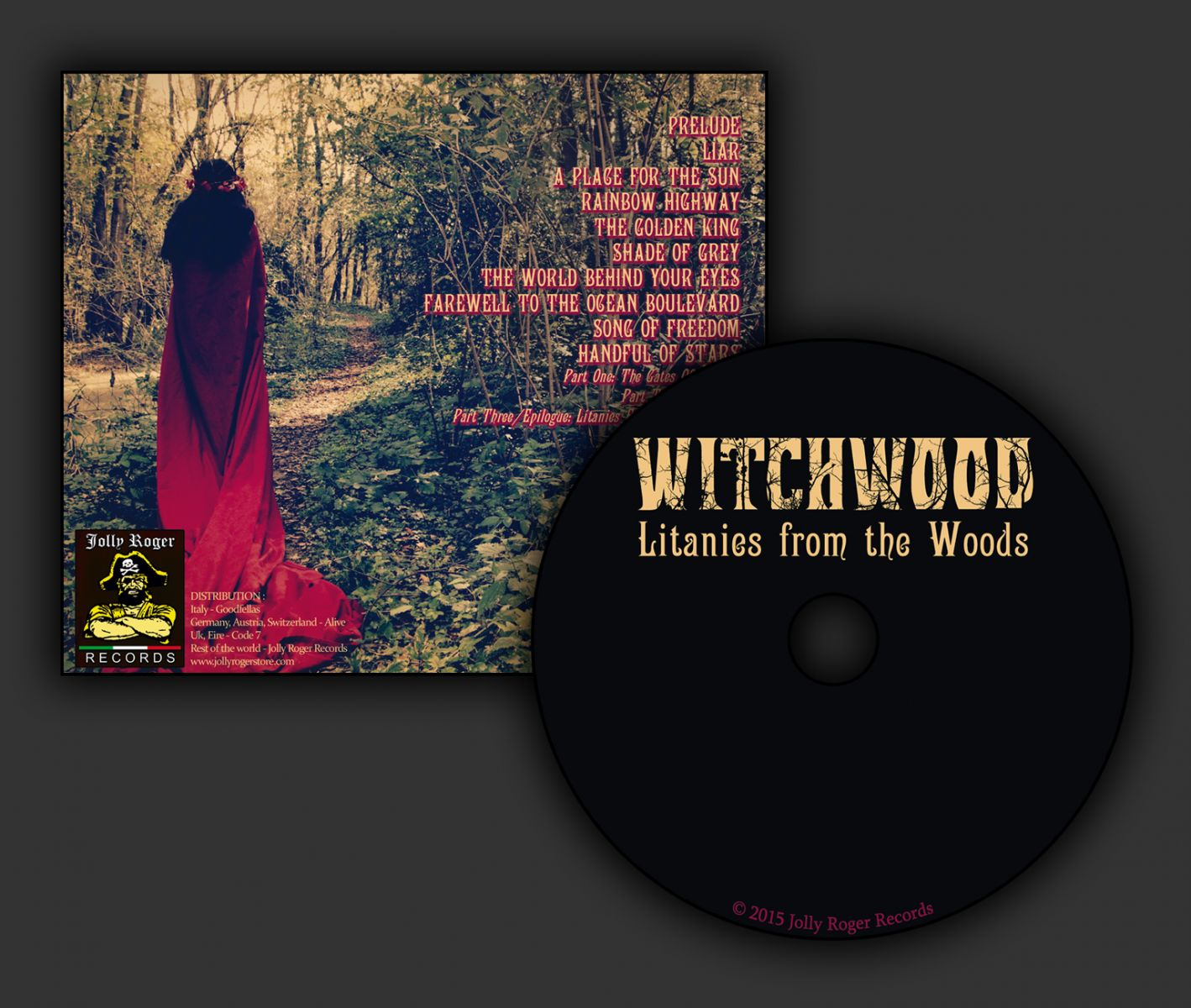 witchwood, litanies from the woods, handful of stars, hammond